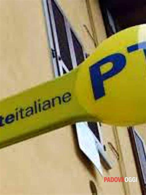 ufficio postale vigonza poste italiane chiusura temporanea dell ufficio di levada