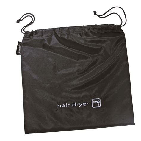 Hair Dryer In A Bag sunbeam 174 hair dryer storage bag black 001600 000 000