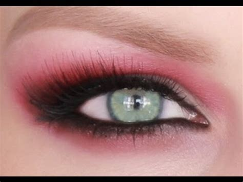 eyeshadow tutorial red red eye makeup tutorial mugeek vidalondon