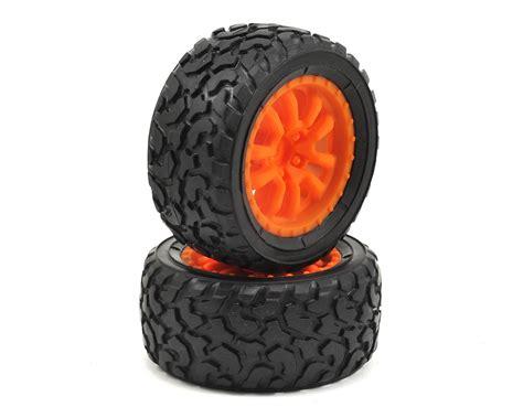 Promo Reston Sponge Tires Orange Losi Desert Truck Pre Mounted Tire Orange 2 Los41005