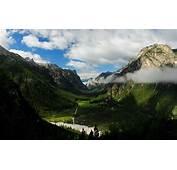 Forest Mountain Valley  HD Desktop Wallpapers 4k