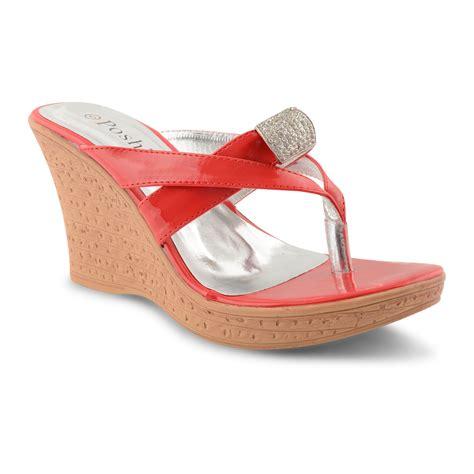 high heel flip flops shoes wedge heel flip flops heels me
