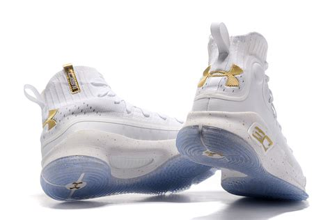 all white armour basketball shoes new arrivel armour curry 4 white gold 2017 nba