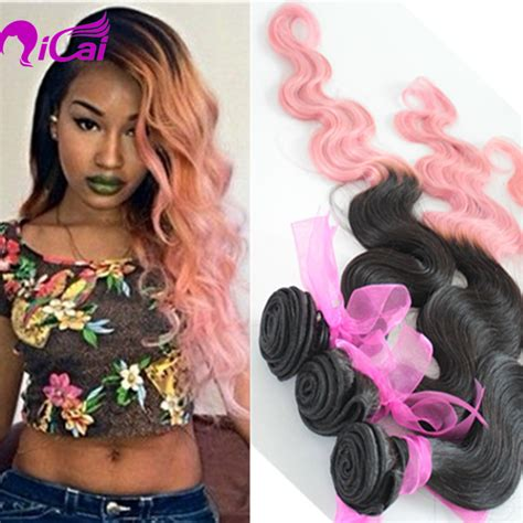 Pink Weave Hairstyles by Popular Pink Hair Weave Buy Cheap Pink Hair Weave Lots