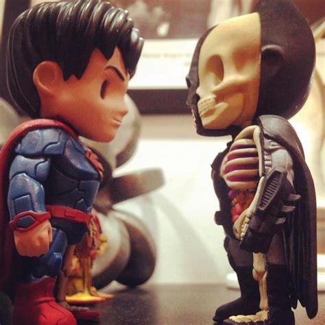 Mighty Jaxx Superman Monochrome mighty jaxx x jason freeny x dc xxray iamfatterthanyou