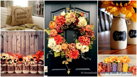 how to decorate your home for thanksgiving 20 super cool diy thanksgiving decorations for your home