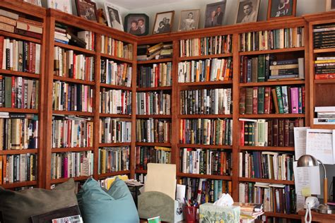 building a library room home design
