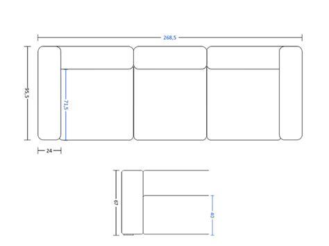 photos canap 233 3 places dimensions