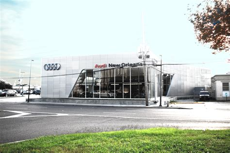 audi dealership new orleans audi new orleans mouton turner architects