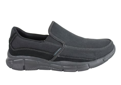 skechers equalizer popular demend mens slip on shoes