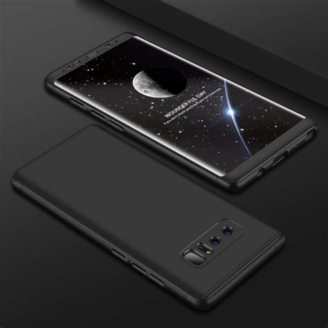 360 Samsung Note 8 gkk for samsung galaxy note 8 pc 360 degrees coverage protective back cover black