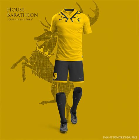design your fashion uniform games game of thrones soccer jerseys the awesomer