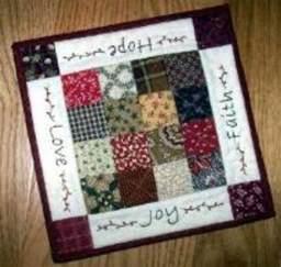 free mug rug patterns mug rug pattern quilts