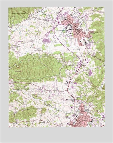 virginia topographic map blacksburg va topographic map topoquest