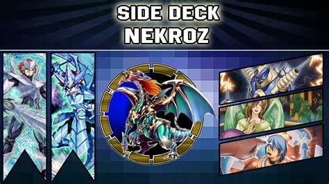 yugioh side deck yugioh side deck vs nekroz