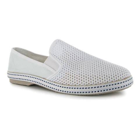 kangol mens mesh canvas slip on stylish design shoes