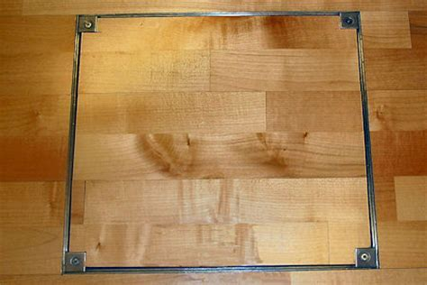 Wood Floor Access Cover from Howe Green US on AECinfo.com