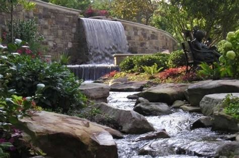 backyard stream ideas pond and waterfall chattanooga tn photo gallery