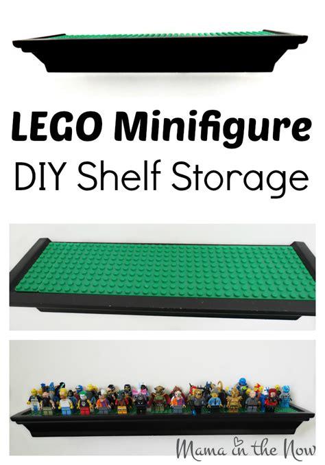 figure storage ideas lego minifigure diy shelf storage