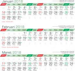 Kalender 2018 Pemerintah Indonesia Toko Fadhil Template Kalender 2018 30 2018 30