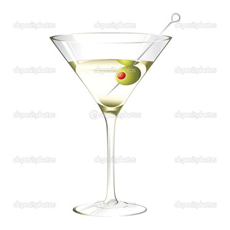 Martini Olive Clipart Clipart Suggest