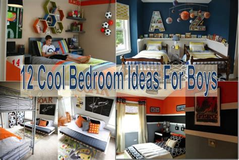 20 Boy Room Decor Ideas A Craft In Your Day 12 Cool Bedroom Ideas For Boys Find Projects To