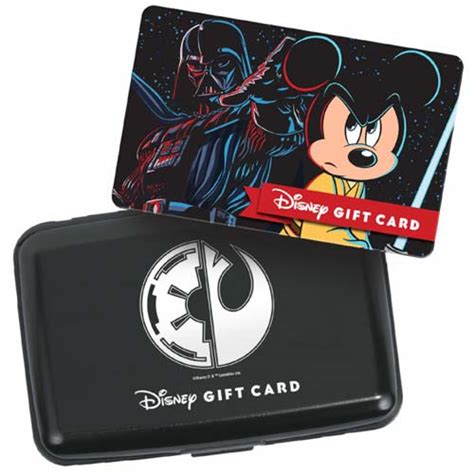 Star Wars Gift Cards - your wdw store disney collectible gift card case holder star wars weekends 2015