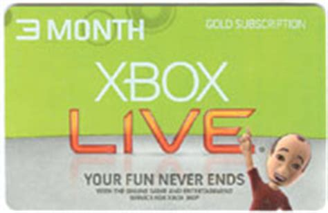buy xbox live 3 month subscription game card code