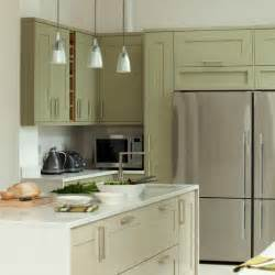 sage green kitchen ideas green and white kitchen with fridge freezer kitchen