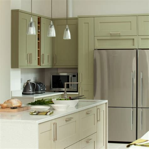 green and white kitchen ideas green and white kitchen with fridge freezer kitchen
