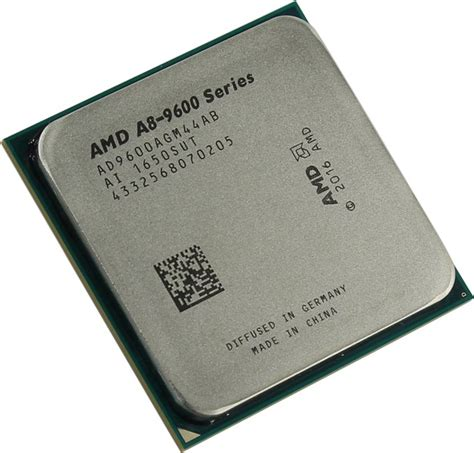 amd 7th a8 9600 apu with radeon r7 series
