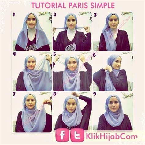 tutorial hijab paris pesta modern 51 best images about tutorial hijab pesta on pinterest
