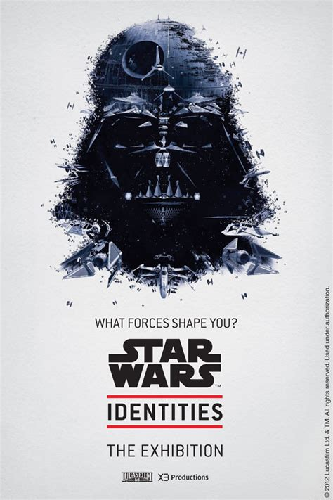 themes of identity in film incredible star wars identities exhibit poster art