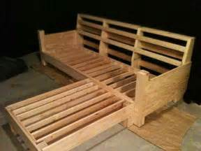 wood frame with removable cushions ideas home