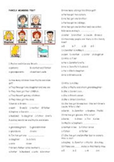 family tree quiz printable english teaching worksheets family tree