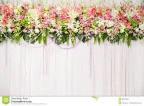 dekoration fotos beautiful flower wedding decoration royalty stock