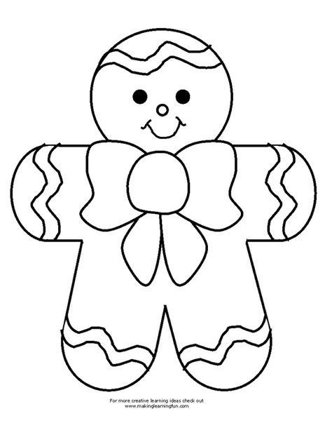 coloring pages gingerbread family 25 best ideas about gingerbread man template on pinterest