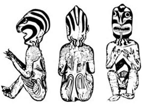 Daster Motif Tato Tribal rapa nui skin easter island ink