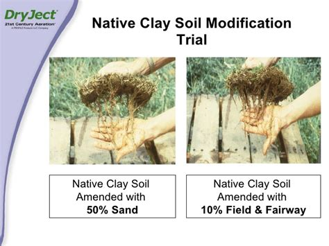 amending clay soil and improving drainage in already www