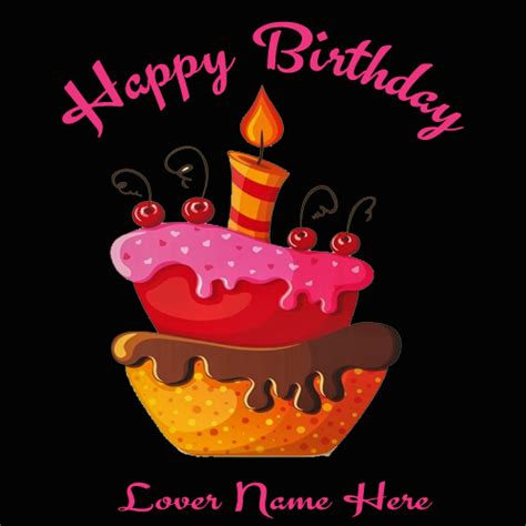 Beautiful Birthday Cards For Write Name On Beautiful Birthday Cards Greetings For Lover