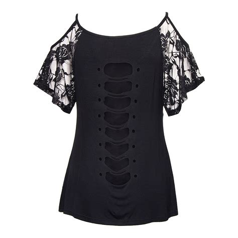 Aura Top banned aura cold shoulder black top s tops