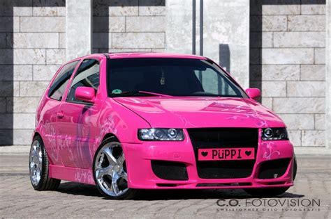 Auto Fußmatten Polo 6n by Tuningpix Vw Polo Quot Pink Lady Quot
