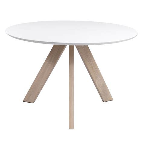 witte ronde eettafel ronde eettafel irena 120cm kleur wit 4476 52