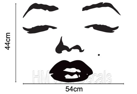 marilyn monroe wall sticker kids wall decors  wholesale  retail removable wall stickers