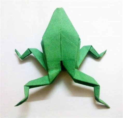 Origami Frogs - origami easy frog crafts
