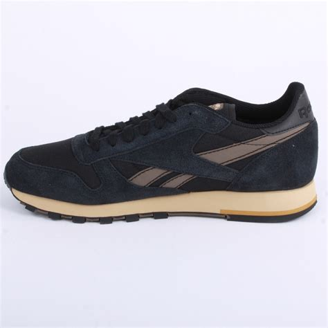 Kickers Slop Suede Leather 02 Black Brown 1 Ca6010 reebok classic leather utility v47280 mens laced suede