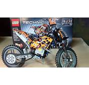 LEGO Technic 2in1 Moto Cross Bike Review Set 42007  YouTube