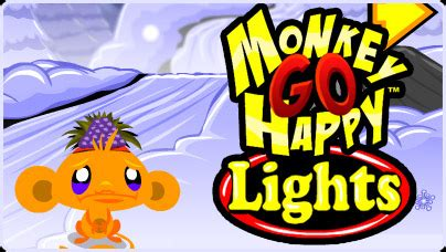 Monkey Go Happy Lights Free Flash Game Flipline Studios