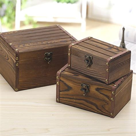 decorative storage nesting boxes set of 3 vintage style wood decorative nesting boxes