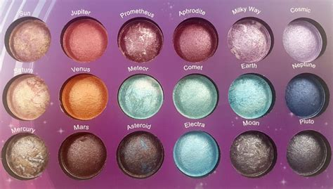 Bh Cosmetics Galaxy Chic bh cosmetics galaxy chic baked eyeshadow palette review